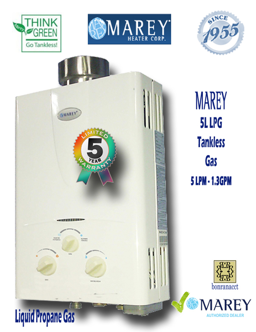 Marey Refurished REFGA5LP LPG 1.3 GPM Tiny House Water Heater