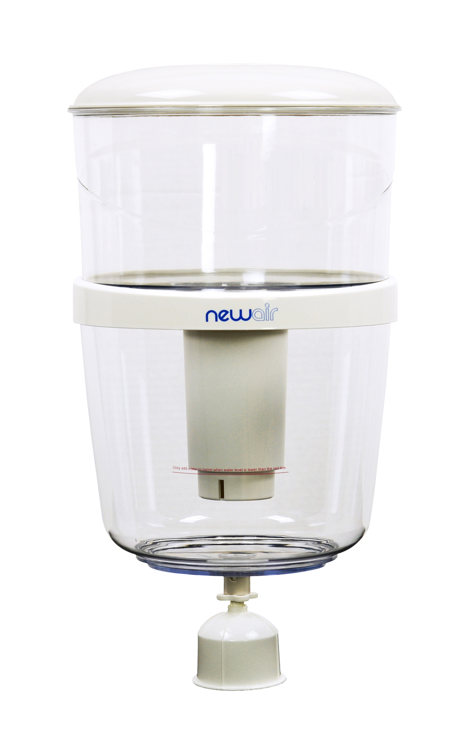NewAir WAT10W Top Loading Water Filtration Bottle