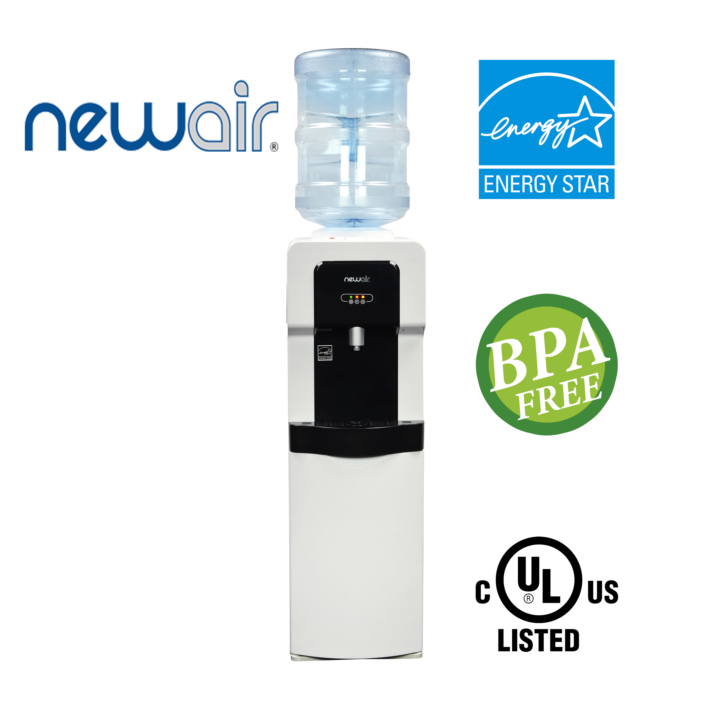 NewAir WAT20W Pure Spring Hot/Cold Water Dispenser