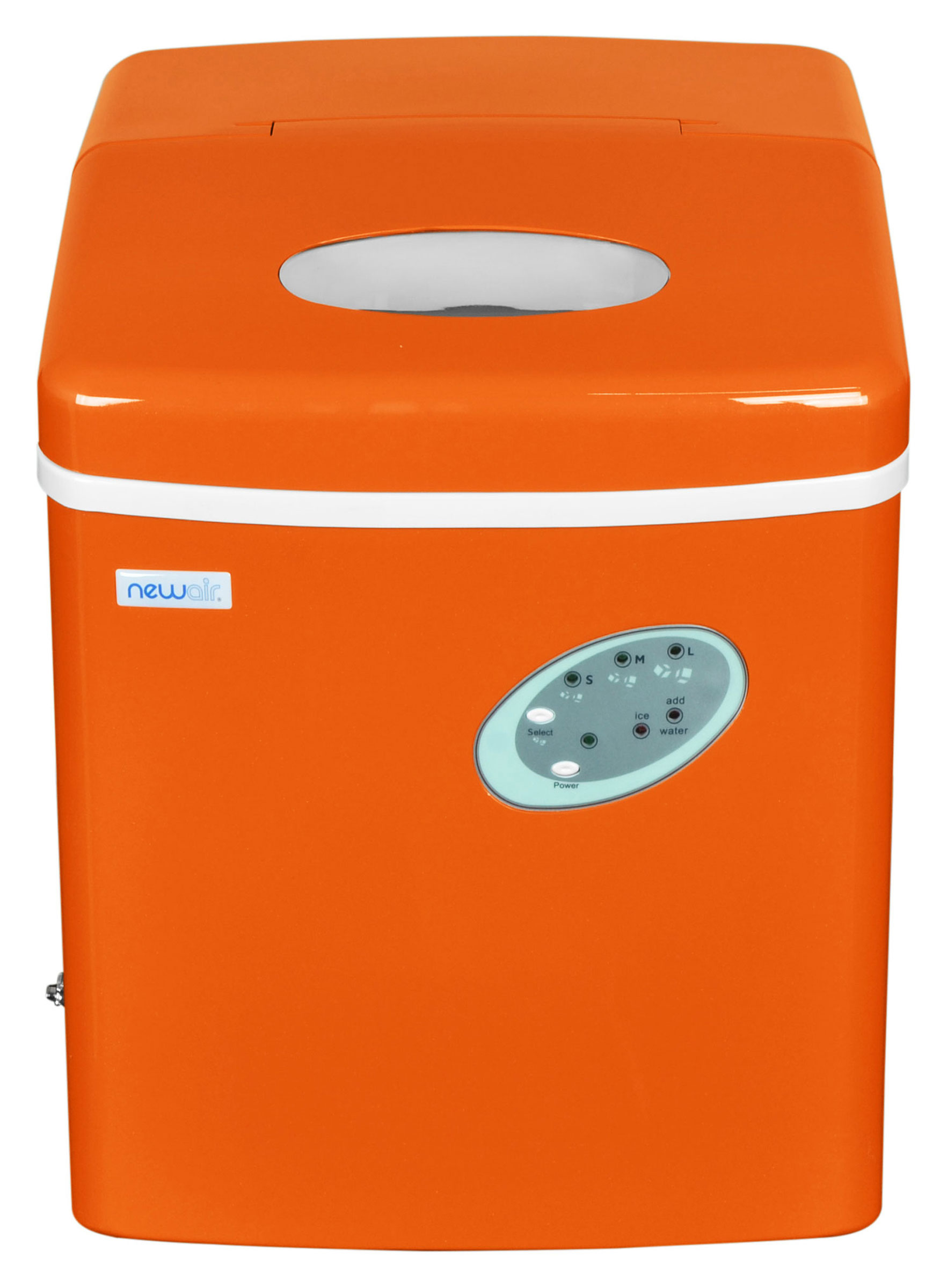 NEWAIR AI-100VO Portable Vermilion Orangel Ice Maker 28 lbs/day