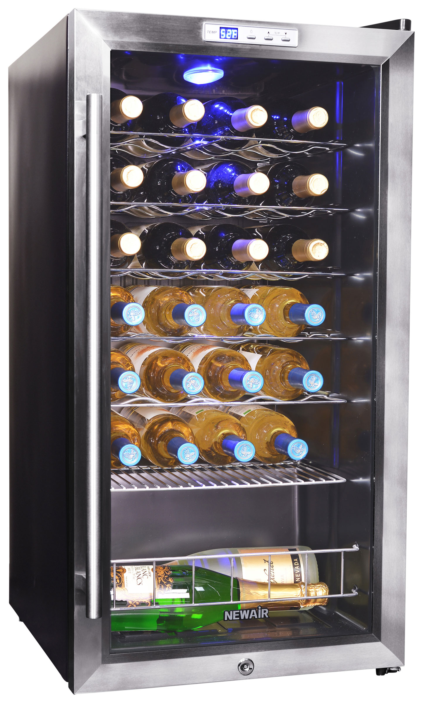 NewAir AWC- 270E 27 Bottle Compressor Wine Cooler