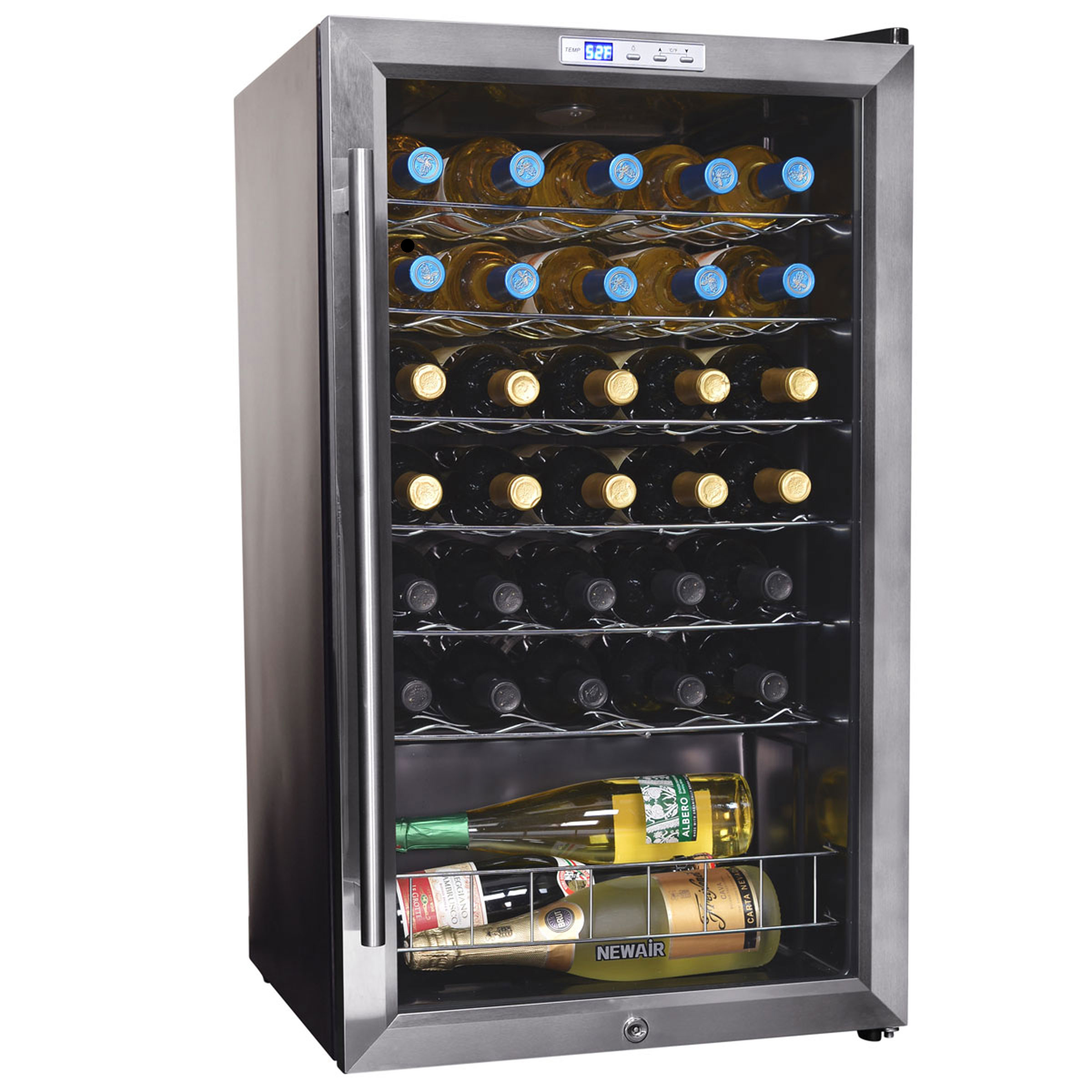 NewAir AWC-330E 33 Bottle Compressor Wine Cooler
