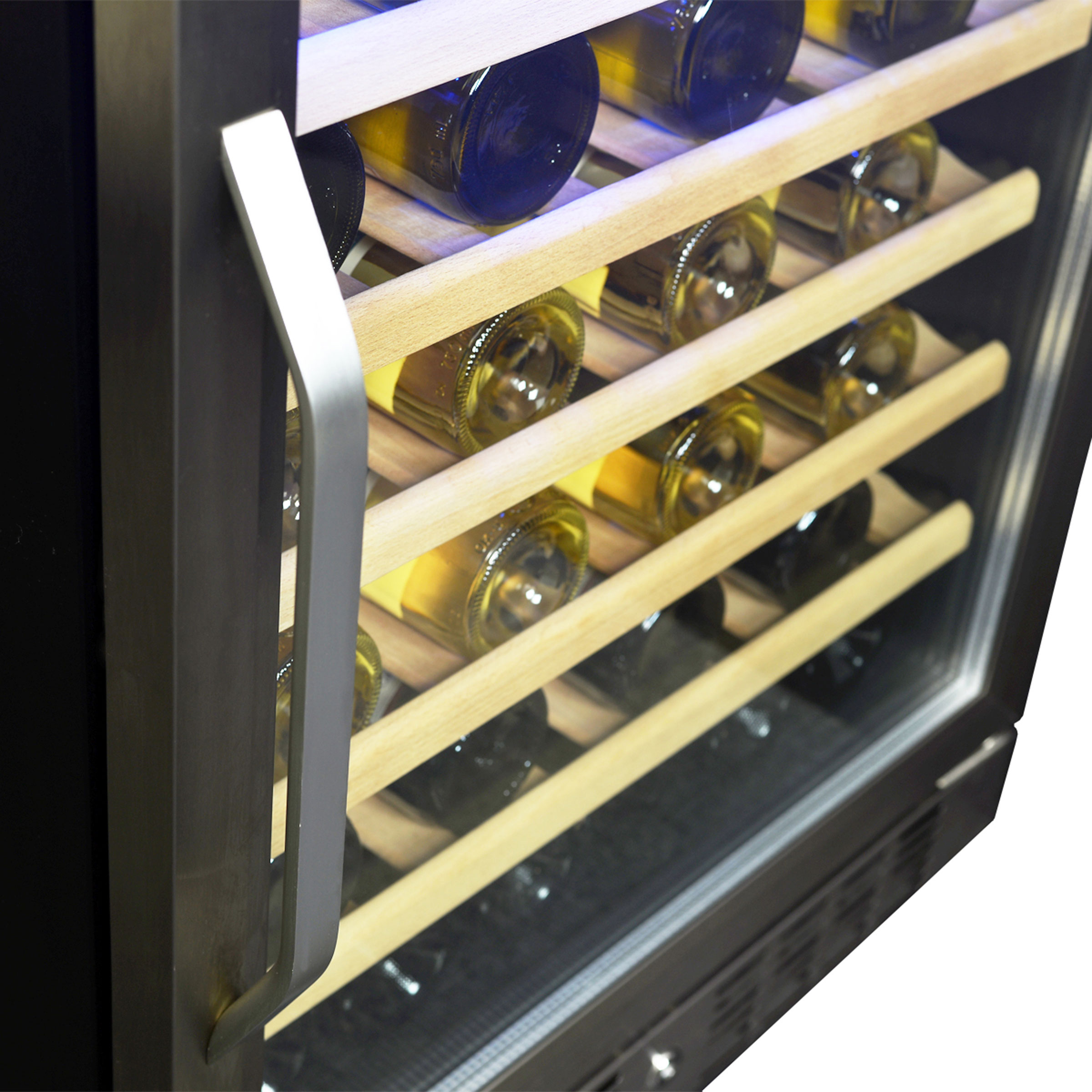 NewAir AWR-520SB 52 Bottle Wine Cooler