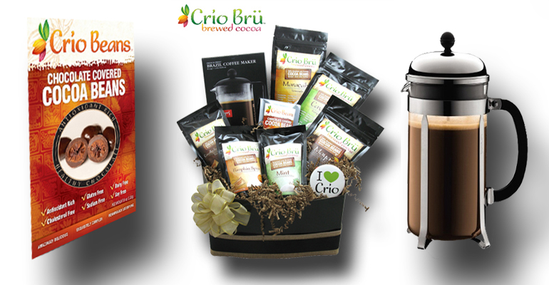 Delicious and Healthy Crio Brü Products