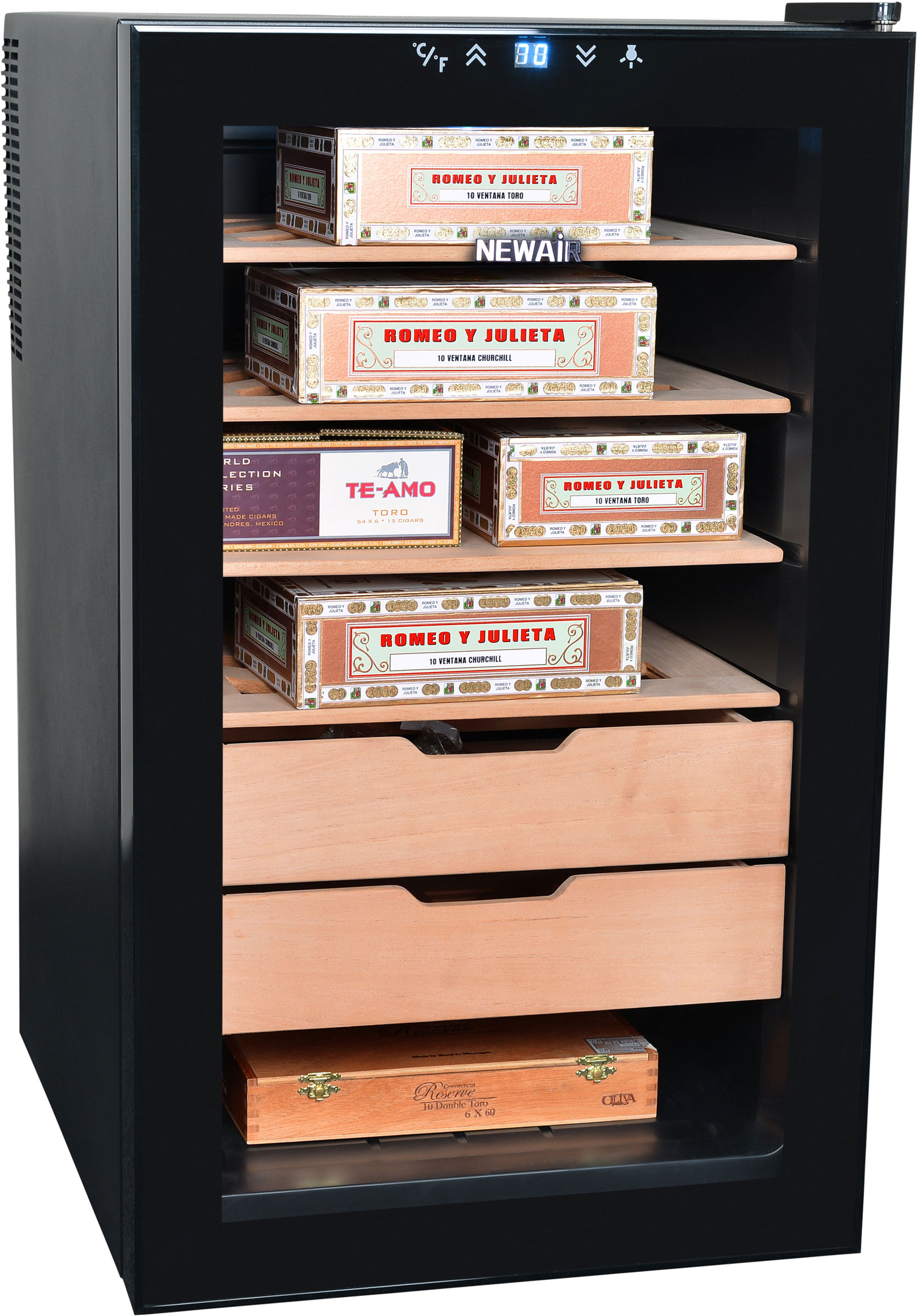 The NewAir CC-280E Humidor Thermoelectric Cigar Cooler