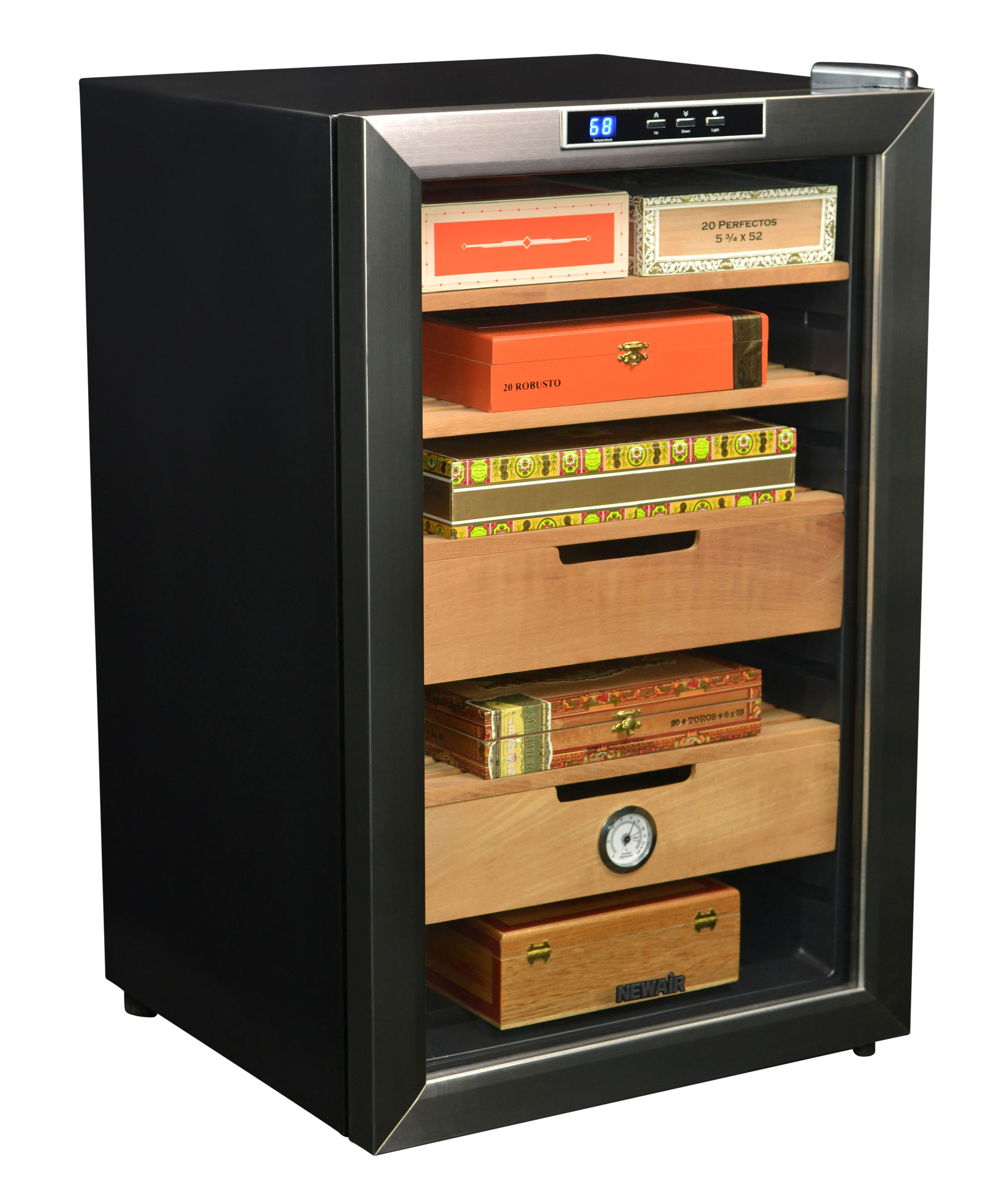The NewAir CC-300 Thermoelectric Cigar Humidor