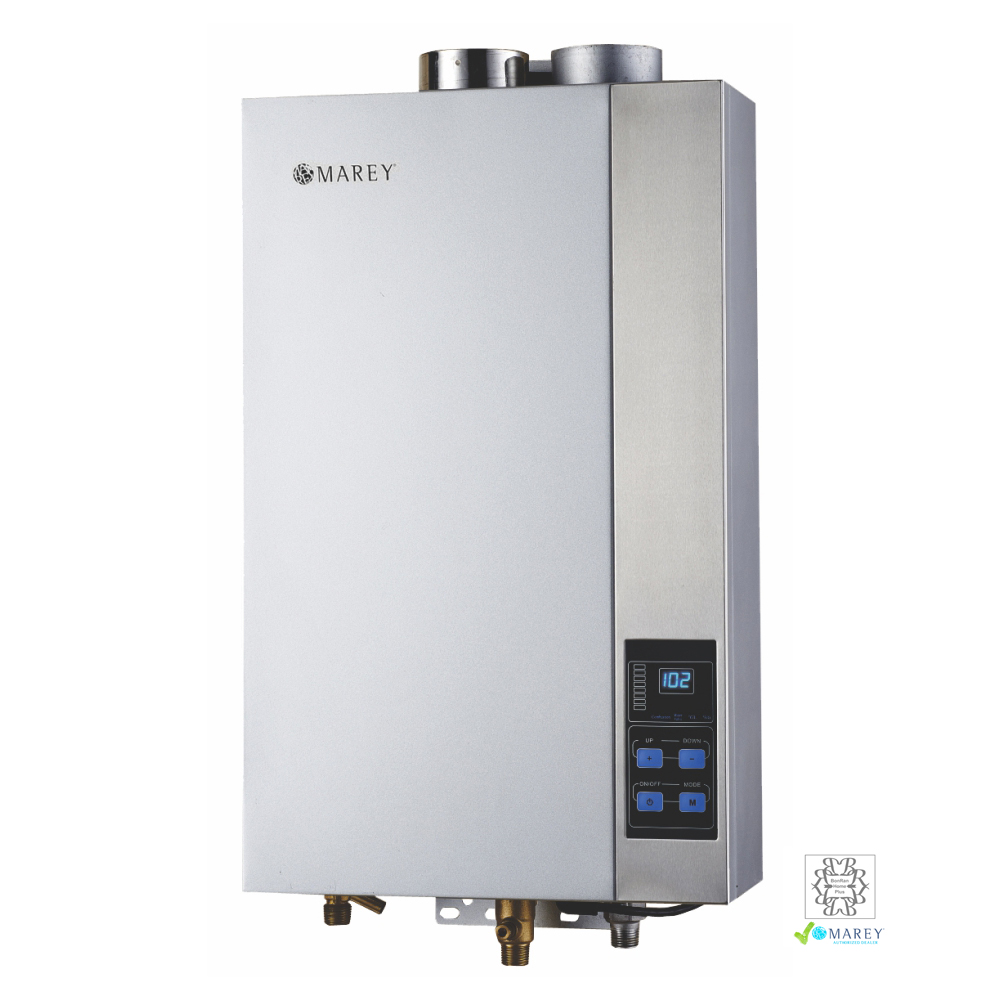 Marey GA14CSANG 3.7 GPM CSA Natural Gas Tankless Water Heater