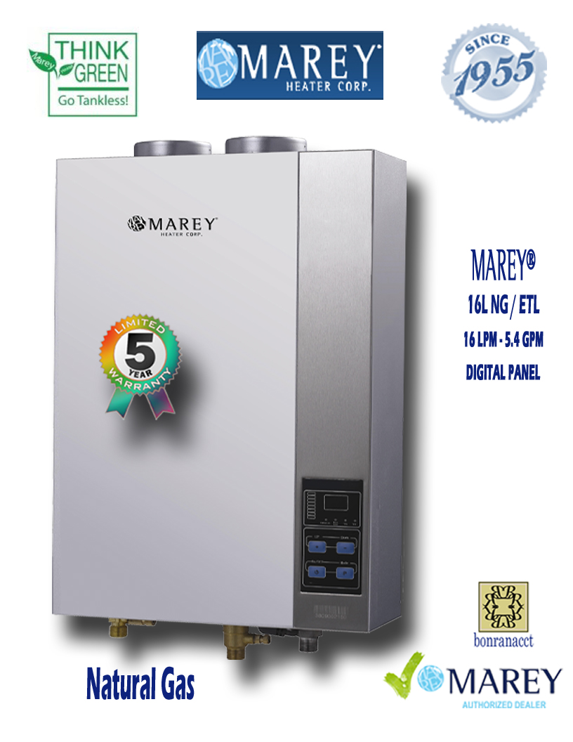 marey ga16ngetl 54 gpm natural gas water heater