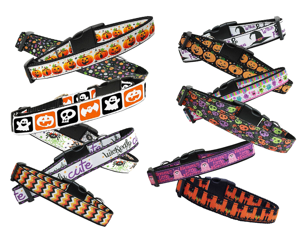 Halloween Nylon Dog Collar