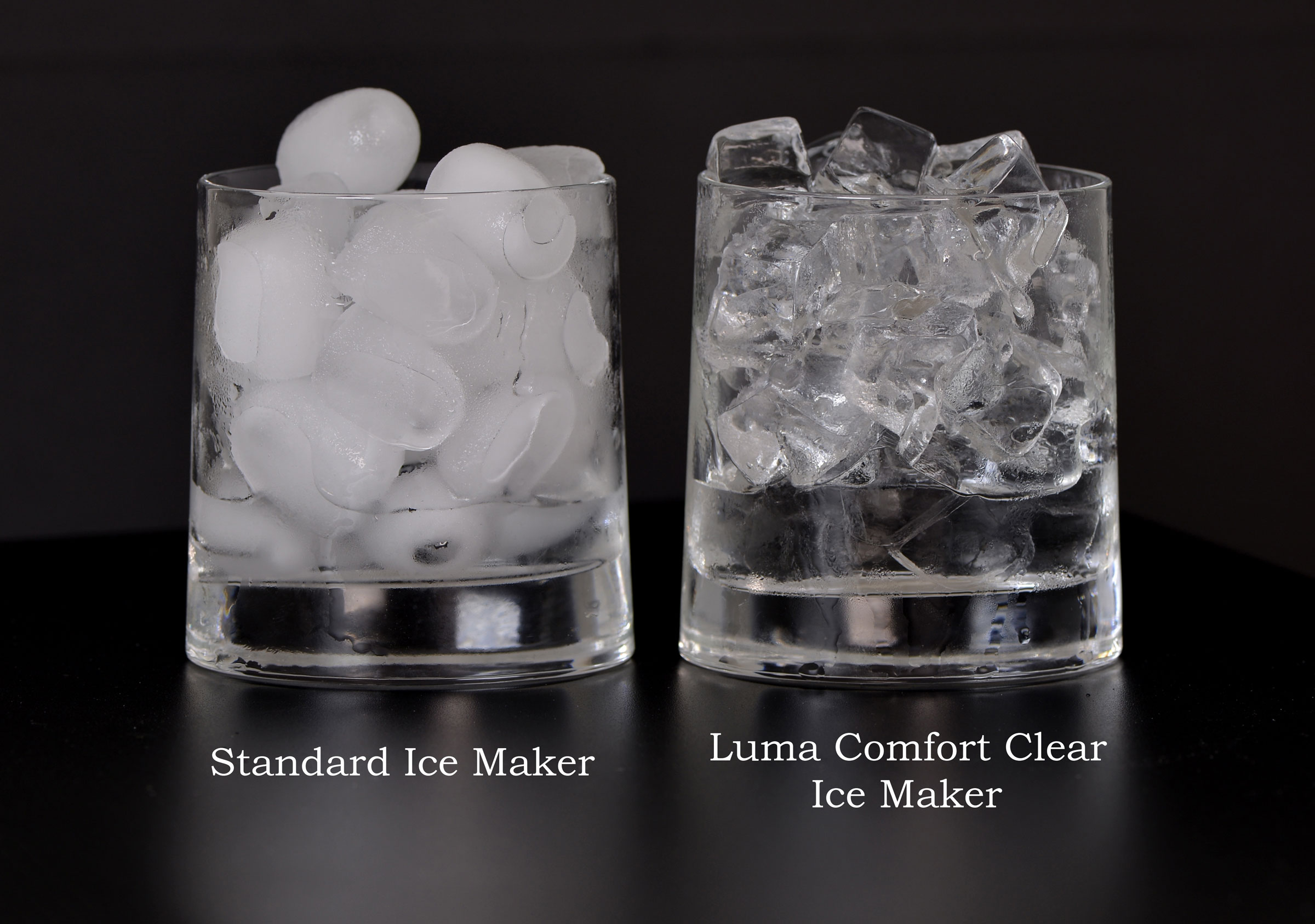 LUMA COMFORT IM200SS Portable Clear Ice Maker - Click Image to Close