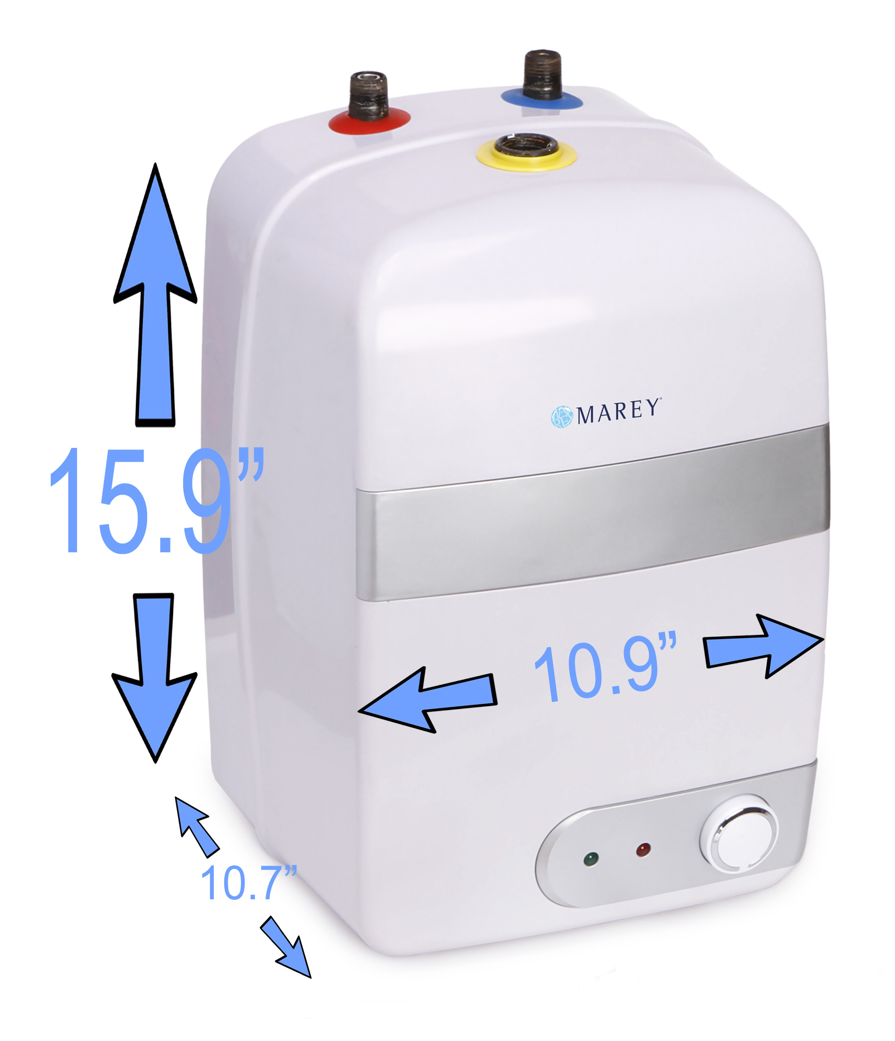 Marey Electric Mini Tank 2.5 Gallons 110 Volt Point of Use