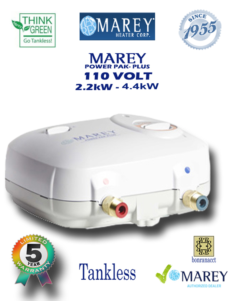 Marey Refurbished Power Pac 110 Electric 110 Volt 2 GPM