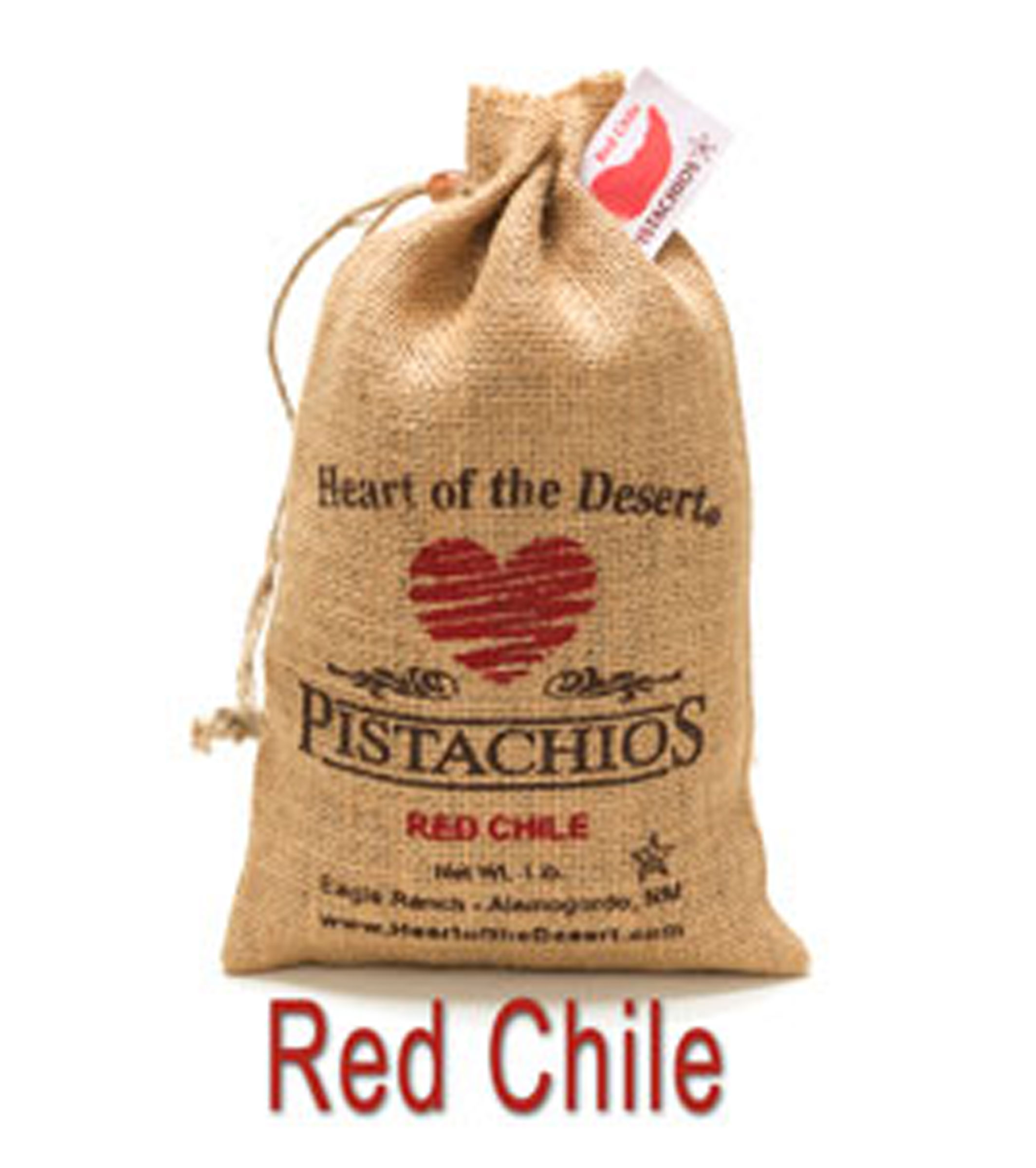 Heart of the Desert Red Chile Pistachios (In-Shell)
