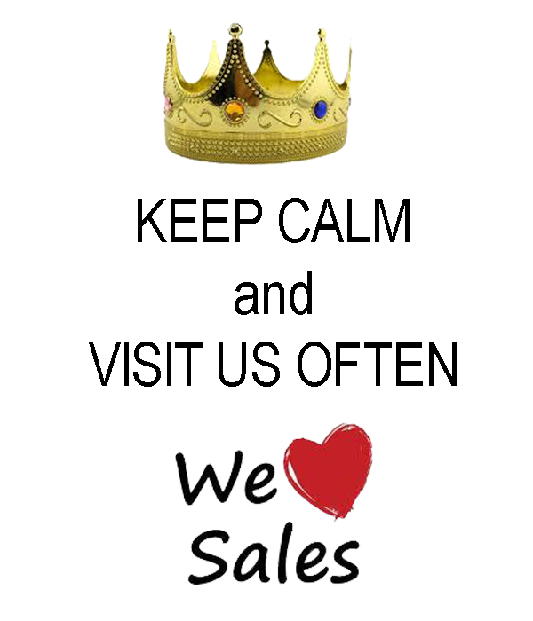 We Love to Sale
