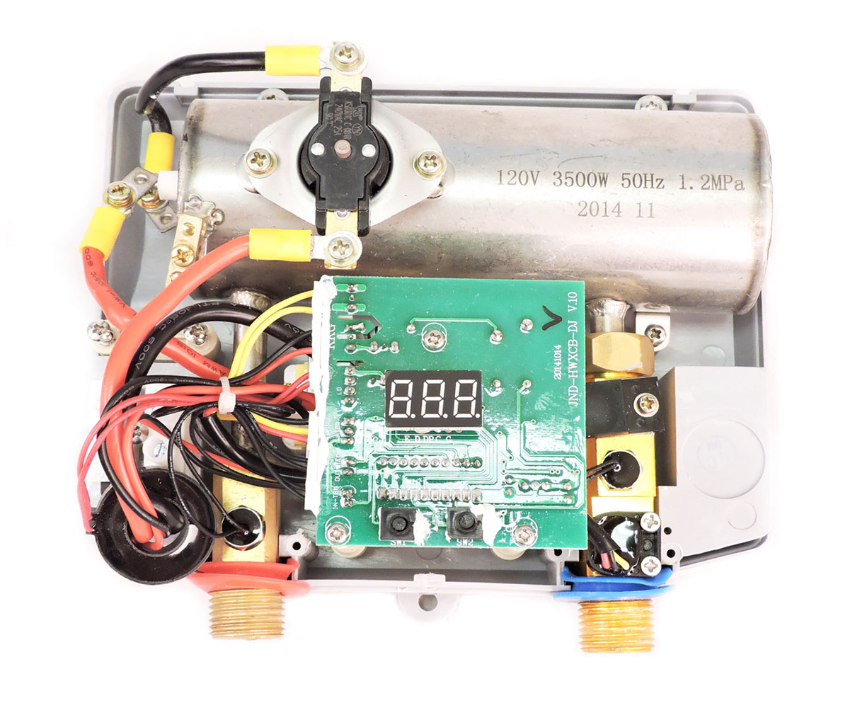 Best 110 V Electric Tankless Marey Eco035 Pou Water Heater