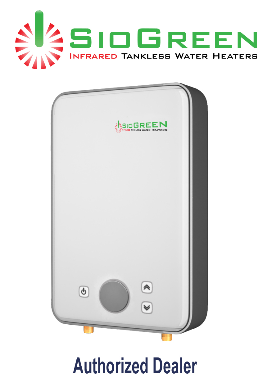 SioGreen Infrared Tankless Water Heater IR-260POU