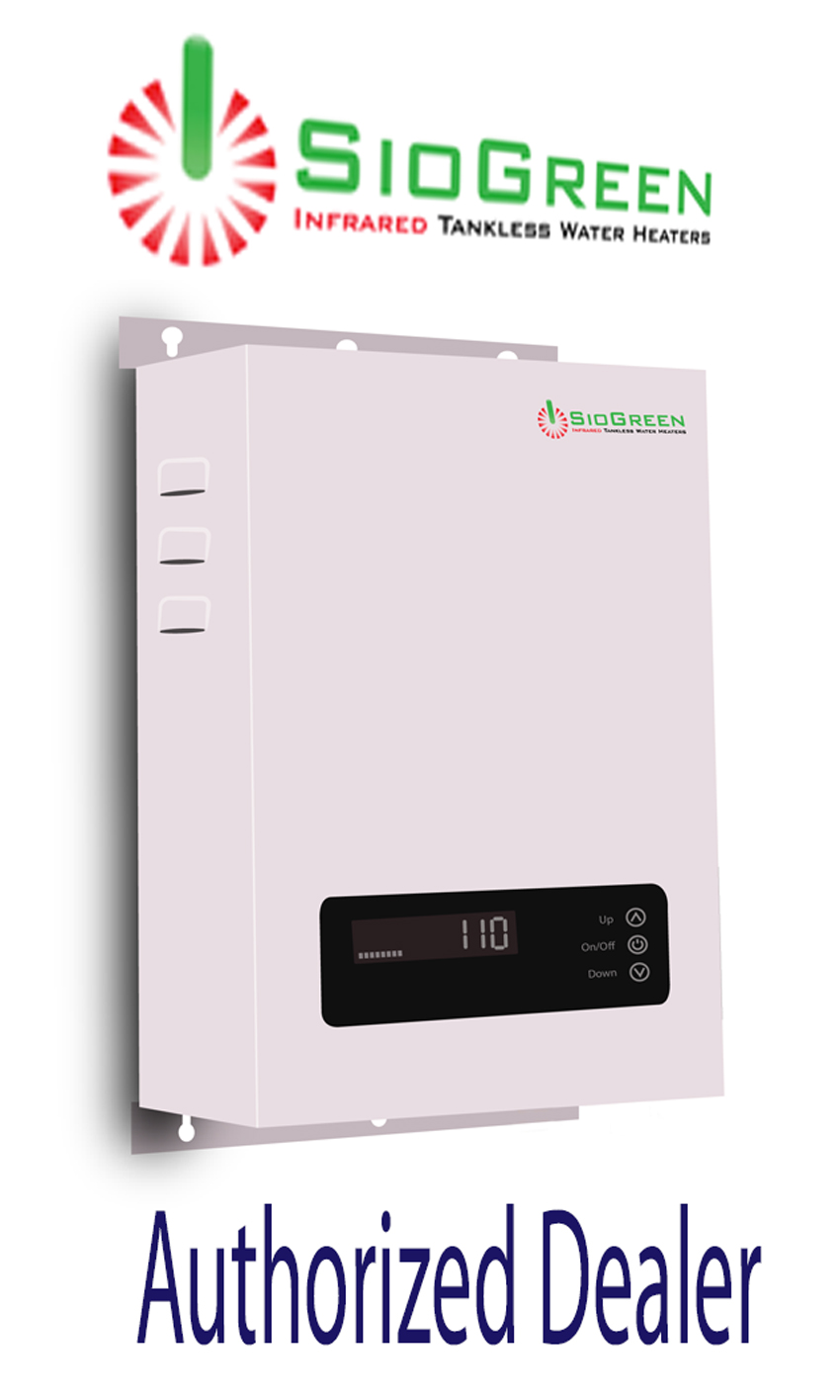 SioGreen Infrared Tankless Water Heater Model SIO18